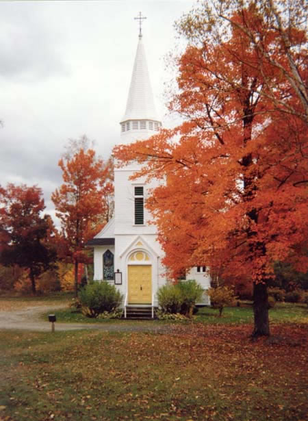 Picture of St. Matthews in the fall.